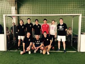 Starke Fußballmannschaft aus St. Wendel